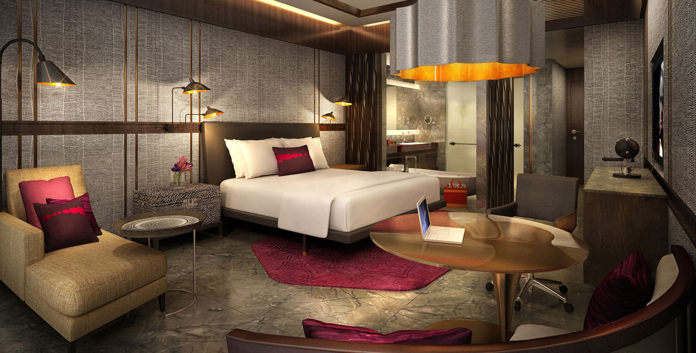 Studio hba hospitality designer best interior design for Luxury hotel room interior design